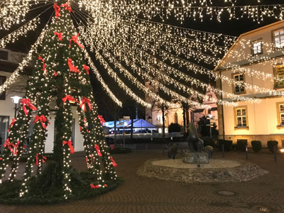 Weihnachtsstimmung Eisbahn